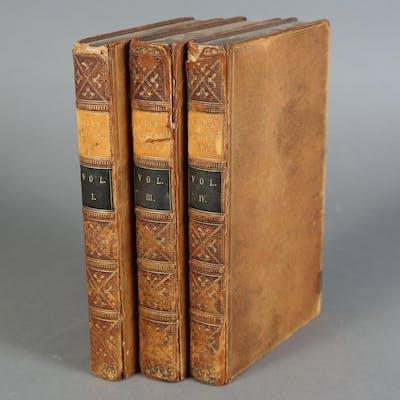Mill, James. The History of British India, Three of Six Volumes, 1820 SBC2