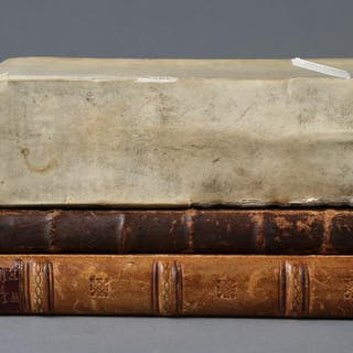 Two English Books and a Dutch Book, 17th and 18th Century SBC2