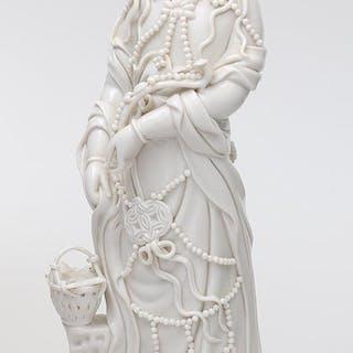 Blanc de Chine Guanyin figure. FR3SH