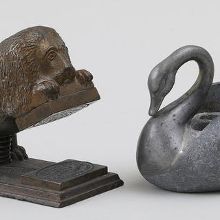 Group of two animal items. FR3SH
