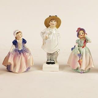 Lot of 5 Royal Doulton Small Children, FR3SHRE6