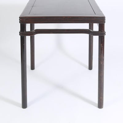 Chinese Softwood Square Table, 20th Century FR3SHLM