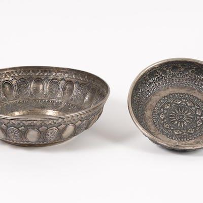 Two Indonesian Silver Bowls FR3SHLM