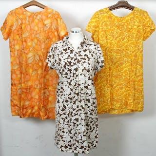 7bb2071152cb 3 st. Vintageklänningar - Klänningar - Vintage - 1960-tal – Pågående  försäljningar – Alla auktioner på Barnebys.se