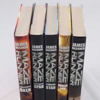 Böcker, Maze Runner 1-5 (komplett serie), James Dashner