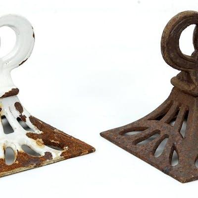 Ornament till Kakelugn - Kamin - Gjutjärn - Lantligt