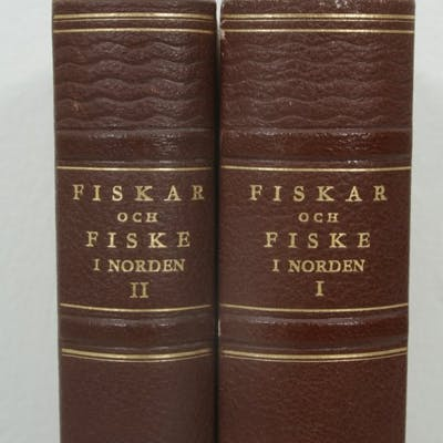 Fiskar & Fiske i Norden I-II - 2 st. böcker