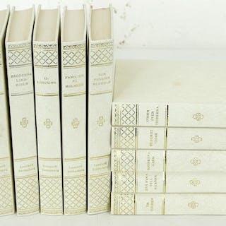 12 st. böcker av Leonard Strömberg - Skönlitteratur