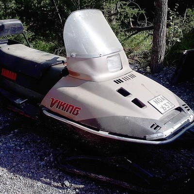 YAMAHA Viking 540 83R - Snöskoter - 1988