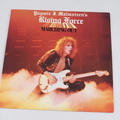 Vinyl, Marching Out, Yngwie Malmsteen