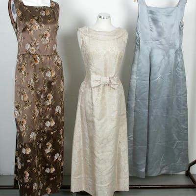 3 st. Klänningar - Hemsydda - Vintage