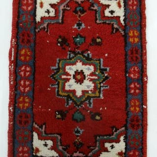 Liten handknuten matta - Orientalisk