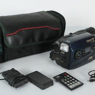 Videokamera med tillbehör - JVC