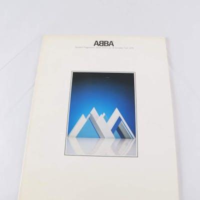 Bok, ABBA: Souvenir programme 1979