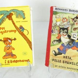 Pippi Långstrum i Söderhavet & Pelle Svanslös - 1940-60-tal