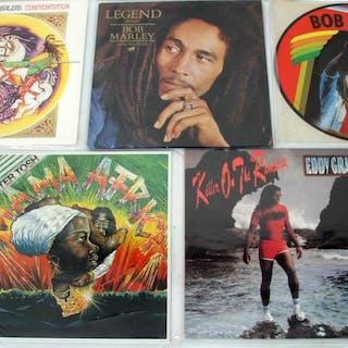 5 st. Lp-skivor - Reggae - Bob Marley - Peter Tosh m.fl.