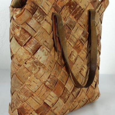 Väska i Näver - Näverväska - Handväska - Vintage