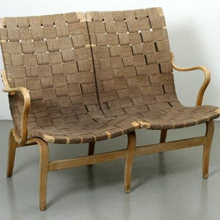 "Soffa - ""Eva"" - Bruno Mathsson - Firma Karl Mathsson - 1965"
