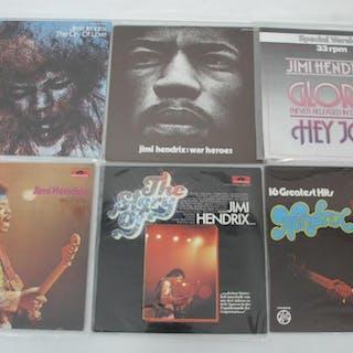 6 st. Lp-skivor - Jimi Hendrix