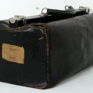 Gammal Doktorsväska - Väska - Skinn - Tidigt 1900-tal