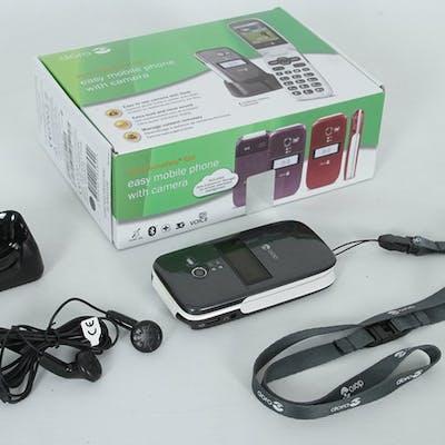Mobiltelefon med tillbehör - Doro PhoneEasy 624