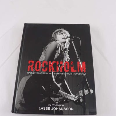 Bok, Rockholm: När Katrineholm var sveriges rock-huvudstad, Lasse Johansson