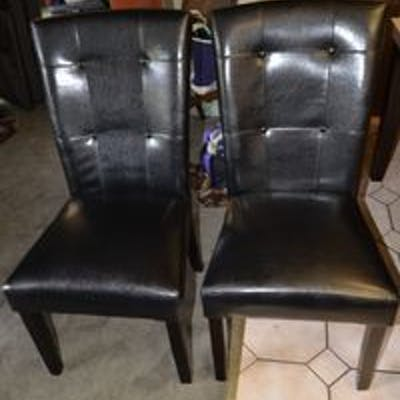 Lot of 6 Dining Chairs 38H x 18.5W x 20L PICK UP IN FLORAL PARK, NY