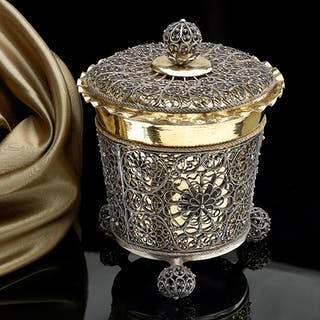 A Swedish SIlver Gilt Beaker