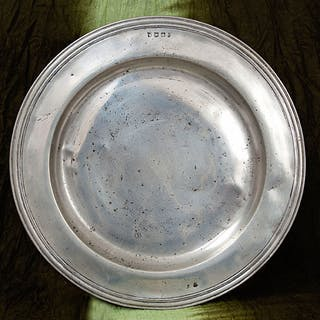 "Pewter 18"" Charger"