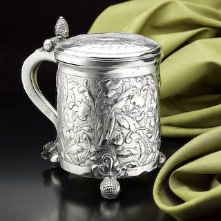 Scandinavian Silver Tankard