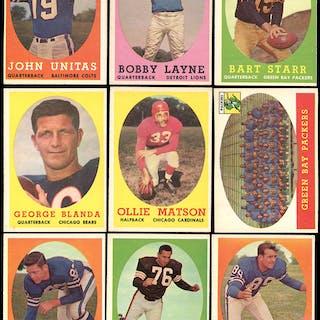 1958 Topps Football High Grade Partial Set 105132