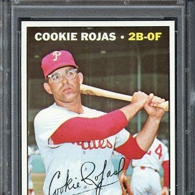 1967 Topps 595 Cookie Rojas Psa 9 Mint Barnebys