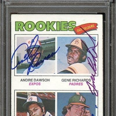 1977 Topps #473 Andre Dawson/Gene Richards/John Scott/Denny Walling