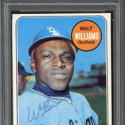 1969 Topps #309 Walt Williams PSA/DNA AUTHENTIC