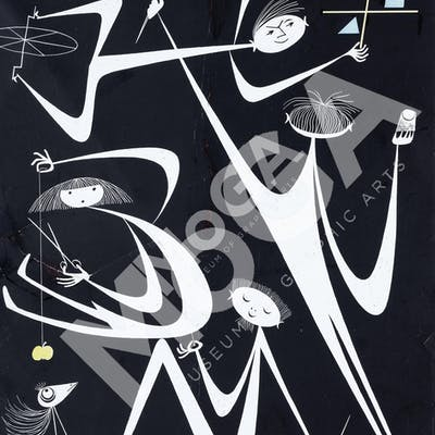 Graphis Magazine 1962, omslag. Olle Eksell.