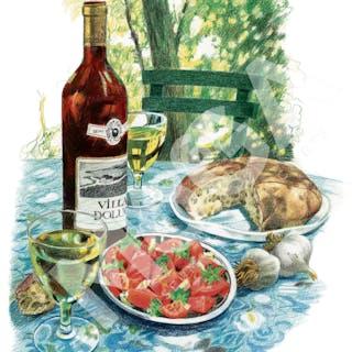 Vin och tilltugg i Turkiet, Jane Bark, 1990-tal.