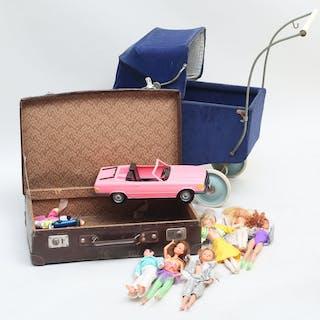 Barbiedockor 4 stycken