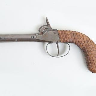 Slaglåspistol antik