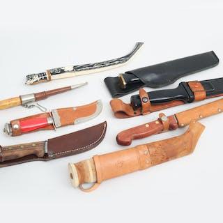 Knivar 8 stycken