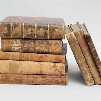 Böcker juridik antika 8 stycken