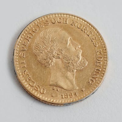 Guldmynt 10kr