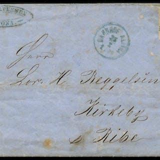 AFA 7: 1858. 4 Skilling, brun ►