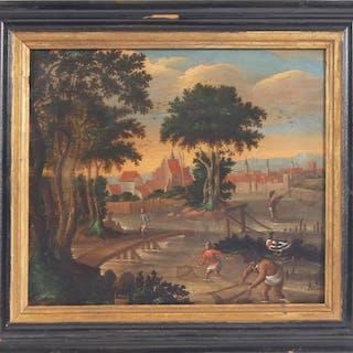 Flamländsk skola, 1700-tal