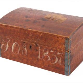 Skrin, allmoge, daterat 1837