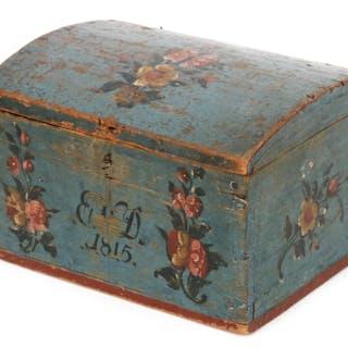 Skrin, allmoge, Hälsingland, daterad 1815