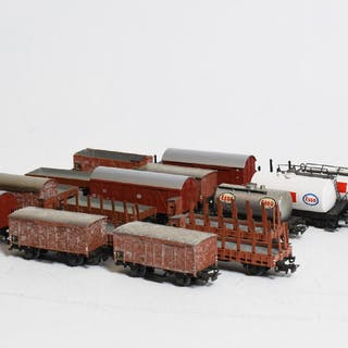 Modelljärnväg, Godsvagnar, Märklin
