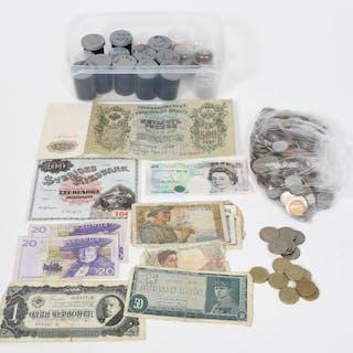 Mynt, Sedlar, hela världen