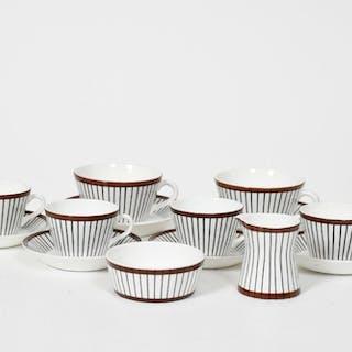 "Kaffe sam teservisdelar, ""Spisa Ribb"", Stig Lindberg"