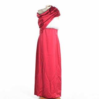 Festklänning med sjal