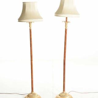 Golvlampor, ett par